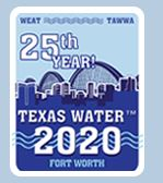 Texas Water Conference, 31.03. – 3.04.2020