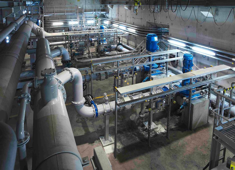 16 Rezirkulationspumpen für die Berliner Wasserbetriebe