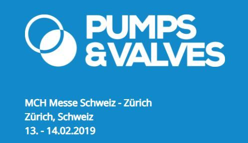 Pumps & Valves 13. - 14.02.2019